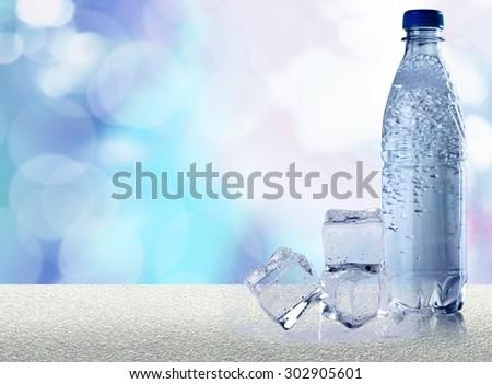 Tap, fresh, water. - stock photo