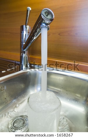 Tap in kitchen