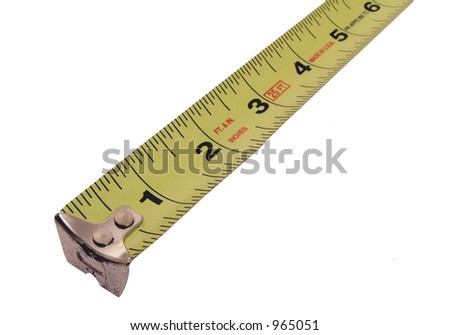 tape measure (white background )