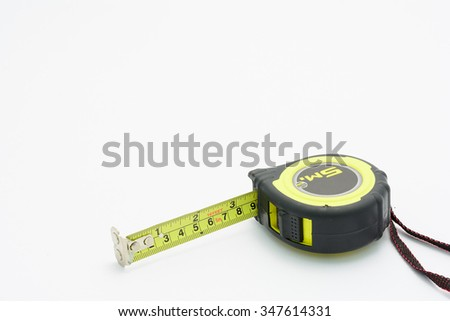 Tape rule - stock photo