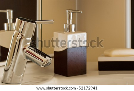 Taps and other bathroom accessories
