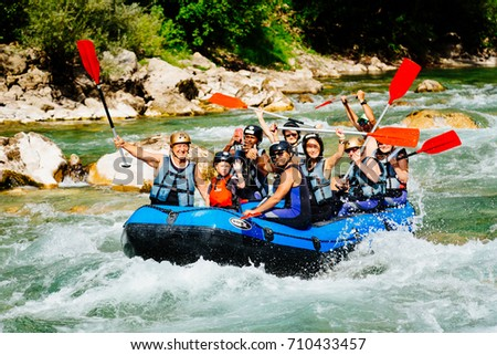 Tara Montenegro 04092017 Group Happy People Guide Stock Photo 100