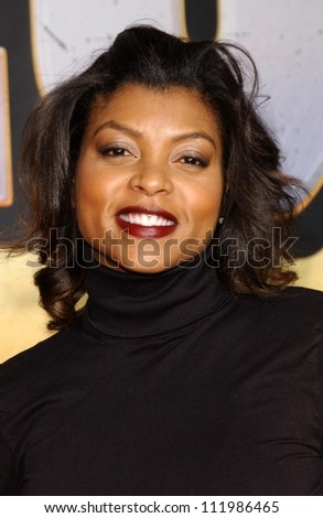 "Taraji P. Henson at the world premiere of ""Wild Hogs"". El Capitan Theatre, Hollywood, CA. 02-27-07"