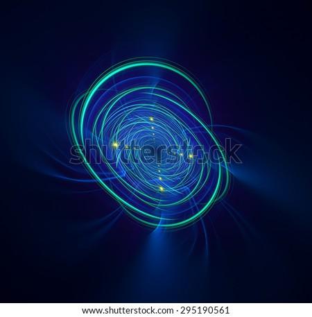 Target abstract illustration - stock photo