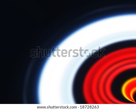 Target abstract with plenty of space for text - stock photo