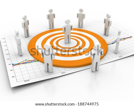 target business people Network - stock photo