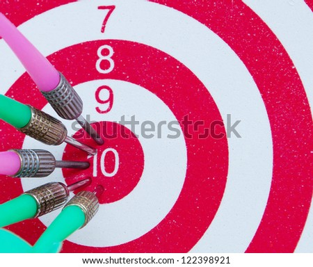 Target. Success concept - stock photo