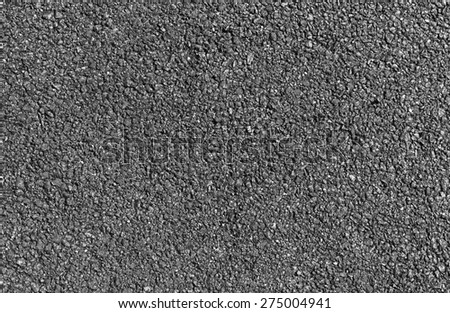 Tarmac road texture background. - stock photo