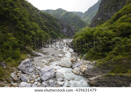 Taroko national park at Hualien, Taiwan