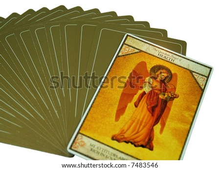 Tarot card on Health - stock photo