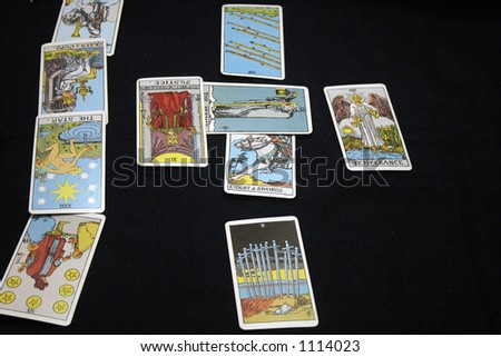 Tarot cards - stock photo