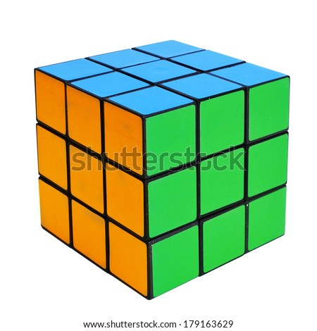 Puzzle cube stock images royalty free images vectors for Rubik espana