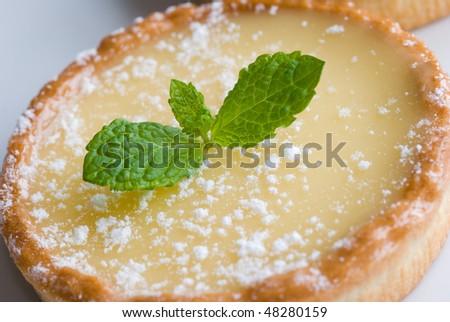 Tart au citron - stock photo