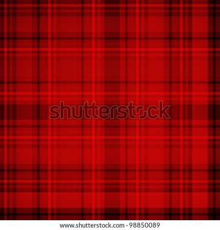 Tartan plaid fabric pattern - stock photo