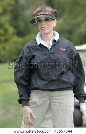 "TARZANA, CA - APRIL 18: Kate Linder participates in the 8th annual ""Hack n' Smack, Kerry Daveline Memorial, Celebrity Golf Classic"" on April 18, 2011 in Tarzana, CA"