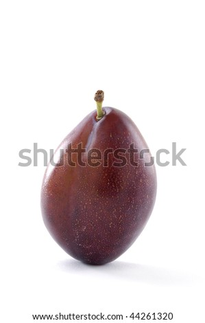 Tasty and isolated pear