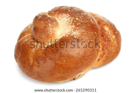 Tasty bagels isolated - stock photo