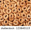 tasty bagels  texture background - stock photo