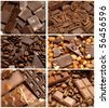 Tasty chocolate - stock photo