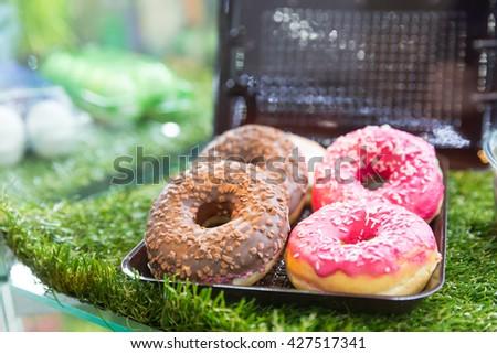 Tasty doughnuts - stock photo