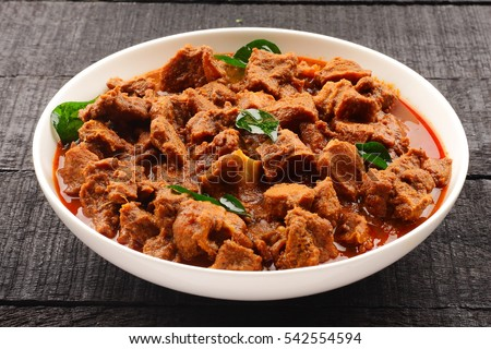 Tasty mutton curry cooked traditional indian stock photo edit now tasty mutton curry cooked with traditional indian recipe forumfinder Images