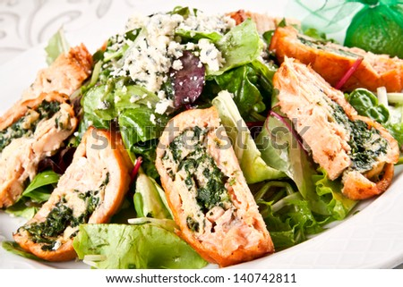 Tasty salad - stock photo