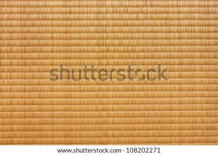 Tatami Mat - stock photo