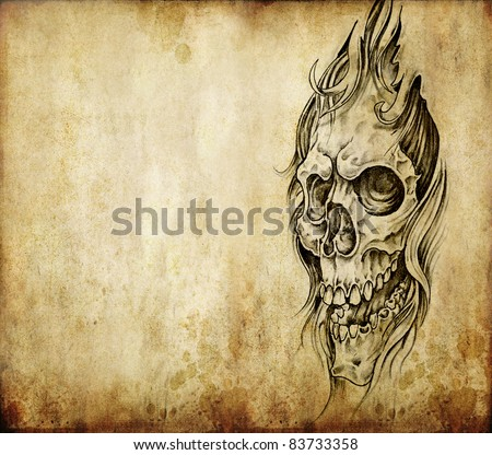 Stock images royalty free images vectors shutterstock for Printable tattoo paper