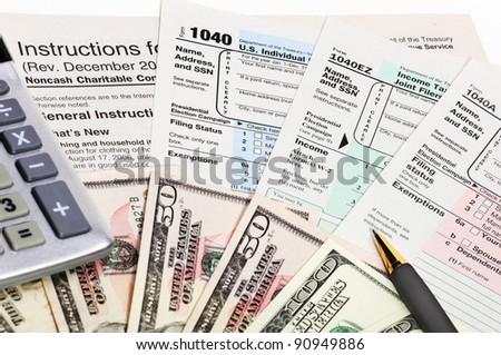 Garry l 39 s portfolio on shutterstock for 1040 tax table calculator
