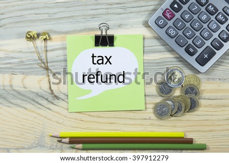 tax help writing in sticky note. pen,euro and calculator. business concept - stock photo
