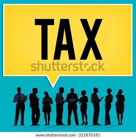 Tax Taxation Audit Refund Accounting Concept - stock photo