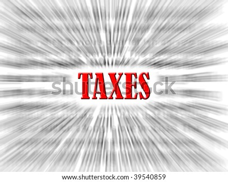 taxes - stock photo