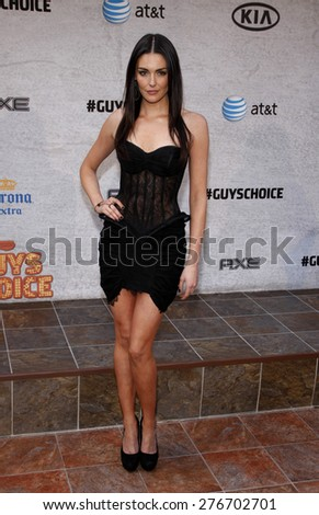 Taylor Cole at the 2011 Spike TV's Guys Choice Awards held at the Sony Studios in Culver City on June 4, 2011.