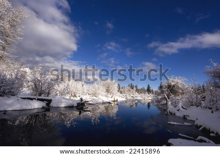 Taylor Creek 3, Lake Tahoe, California - stock photo