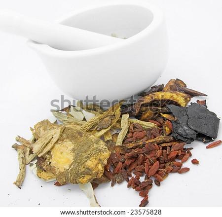 TCM chinese medicine - stock photo