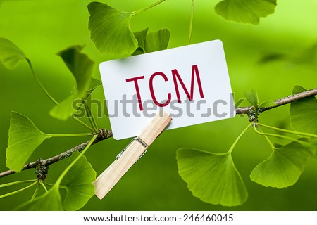 TCM (Traditional Chinese Medicine) - stock photo