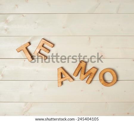 yo te amo meaning in english