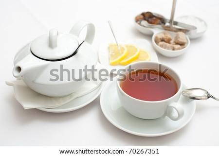 tea - stock photo