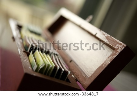 Tea Box - stock photo