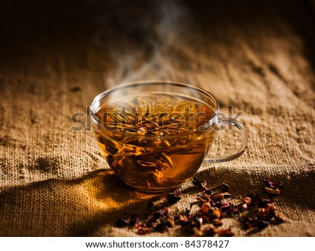 tea break - stock photo