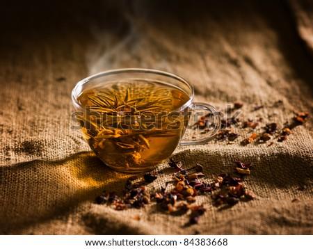 tea break - stock photo