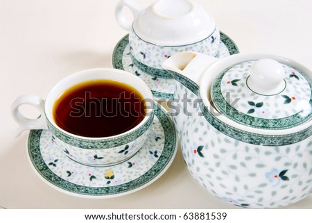 tea cup china pattern