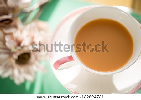Tea, cup of tea - stock photo