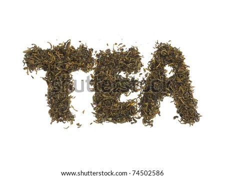 Tea . Green Tea - stock photo