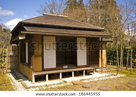 Tea house, Sendai, Japan - stock photo