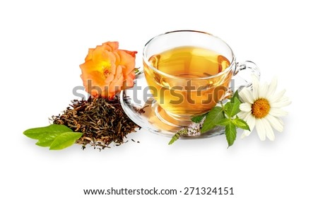 Tea, Leaf, Tea Leaves.