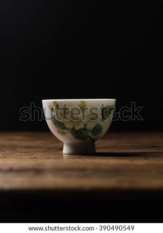 Tea on tea table - stock photo