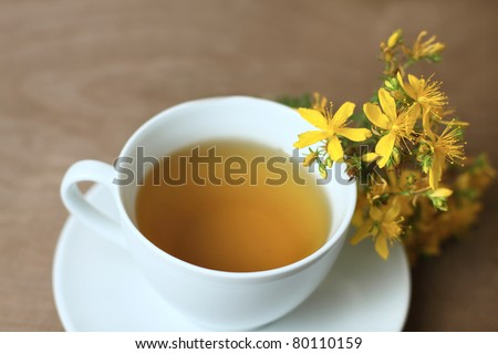 tea with St. John's wort