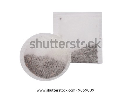 teabags - stock photo