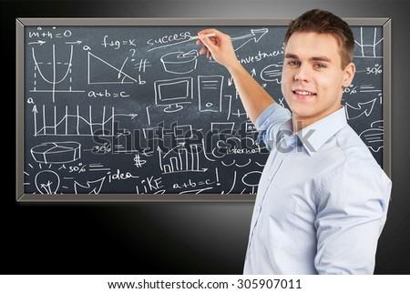 Teacher. - stock photo